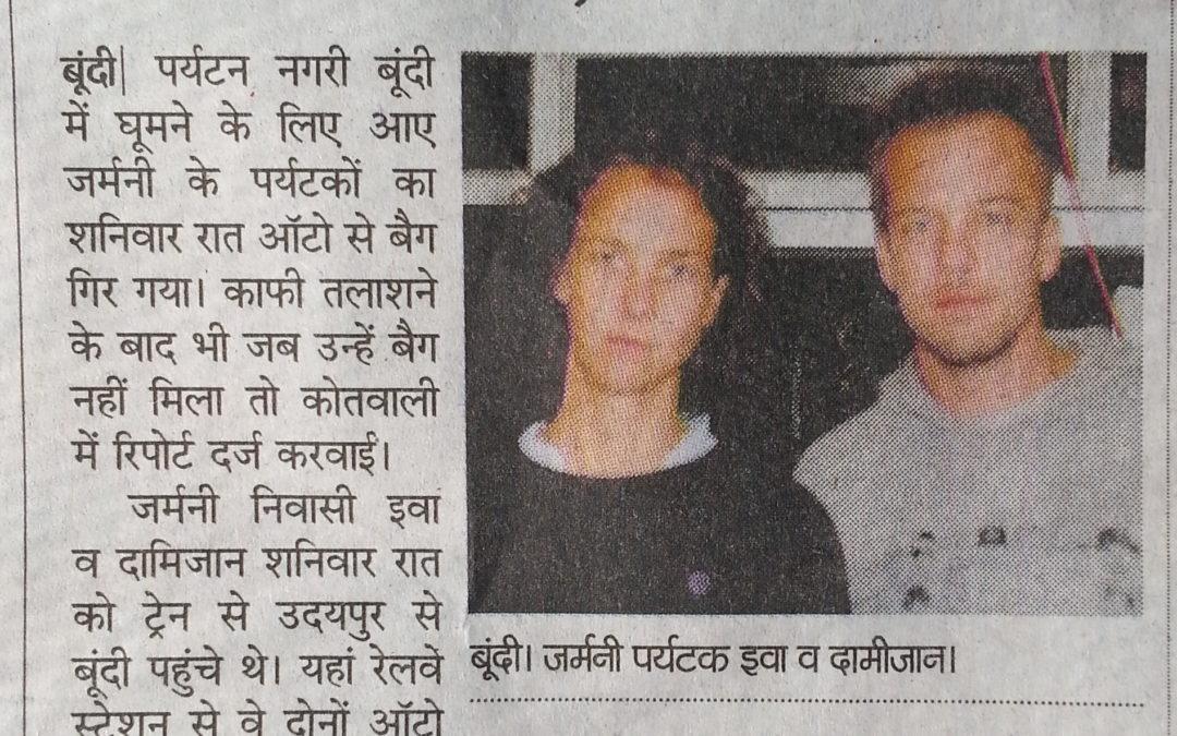 Wie ich in den indischen Breaking News landete