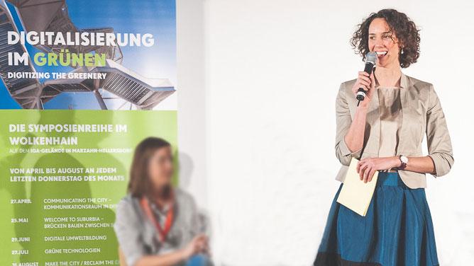 """Symposium """"Digitalisierung im Grünen"""" der Internet-Konferenz re:publica und der Internationalen Gartenausstellung (IGA)"""